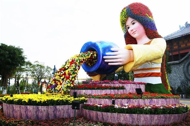 Phát cuồng với những góc check-in đẹp mộng mị tại Lễ hội hoa xuân Sun World HaLong Complex - 8