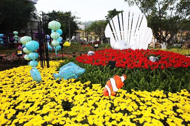 Phát cuồng với những góc check-in đẹp mộng mị tại Lễ hội hoa xuân Sun World HaLong Complex - 9