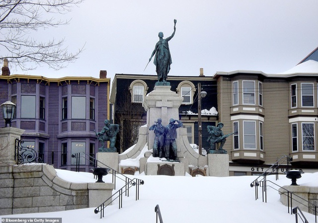 """10 thành phố ngập trong """"biển"""" tuyết vào mùa đông - 4"""