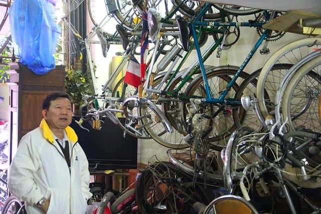 Đại gia Hà thành bán xe đạp cổ mua nhà mặt phố - 5