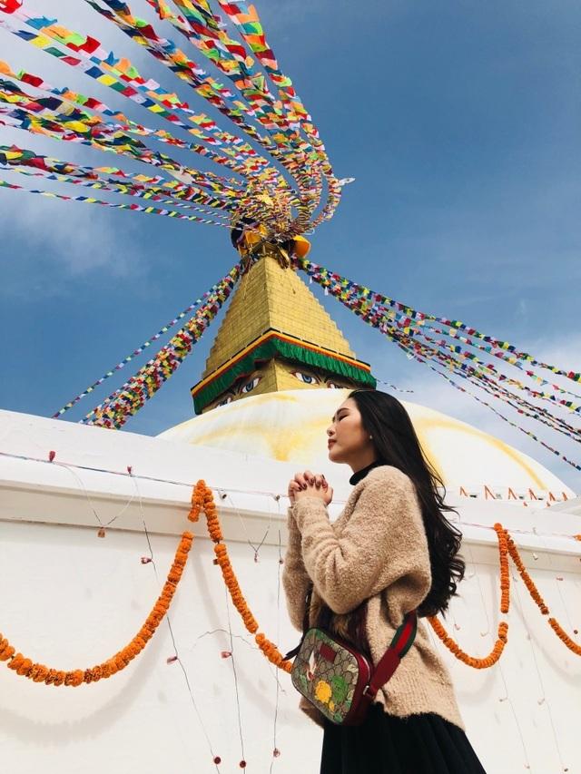 Hoa hậu Tường Linh gây choáng với bộ ảnh mỗi tháng đi du lịch một nước  - 26