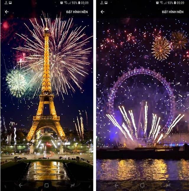 Thủ thuật mang pháo hoa rực rỡ sắc màu tuyệt đẹp lên màn hình smartphone đón Tết - 2