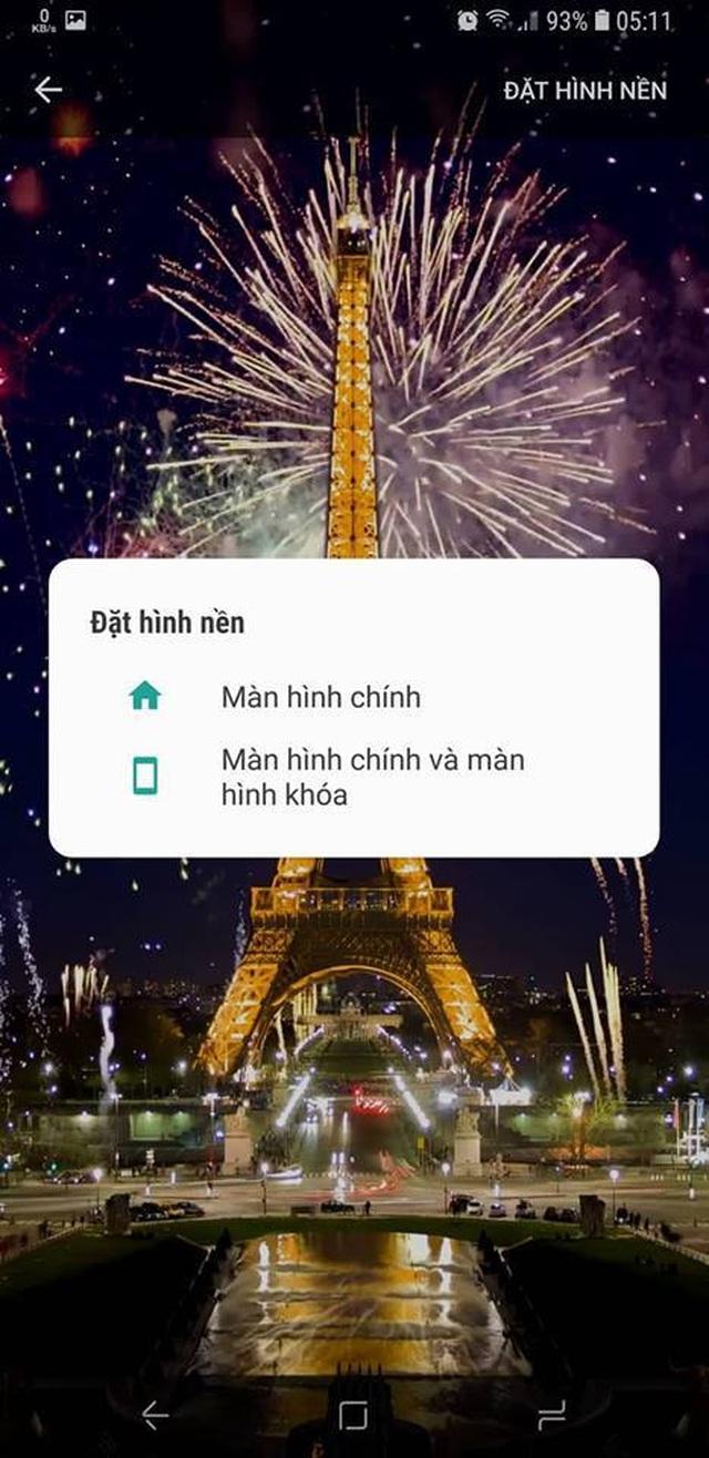 Thủ thuật mang pháo hoa rực rỡ sắc màu tuyệt đẹp lên màn hình smartphone đón Tết - 3