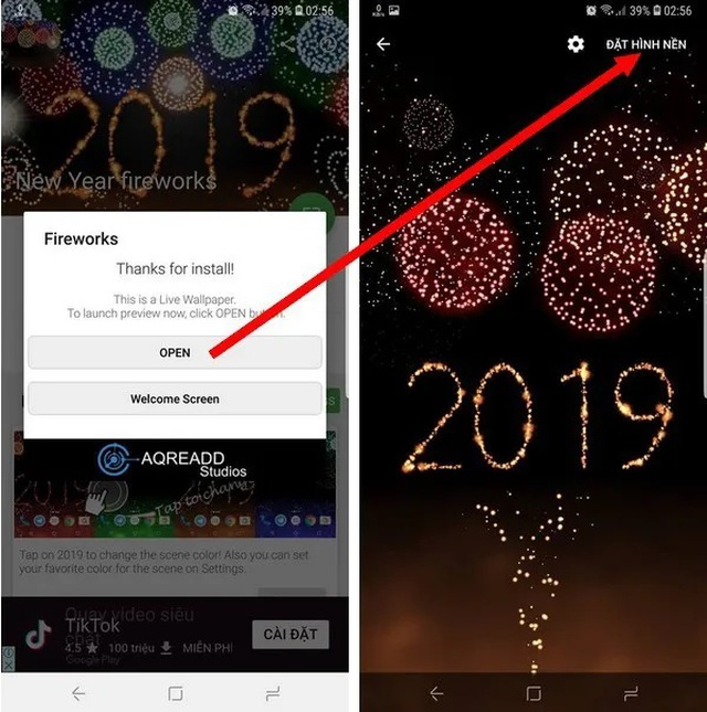 Thủ thuật mang pháo hoa rực rỡ sắc màu tuyệt đẹp lên màn hình smartphone đón Tết - 4