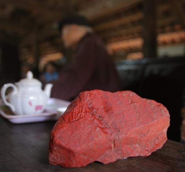 Kỳ diệu loại đá đỏ dùng làm lá cờ Tổ quốc trong Lăng Bác Hồ - 4