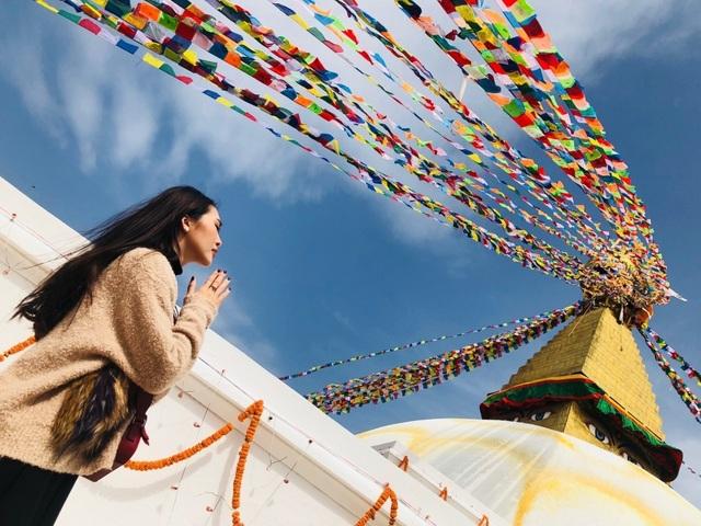 Hoa hậu Tường Linh gây choáng với bộ ảnh mỗi tháng đi du lịch một nước  - 18