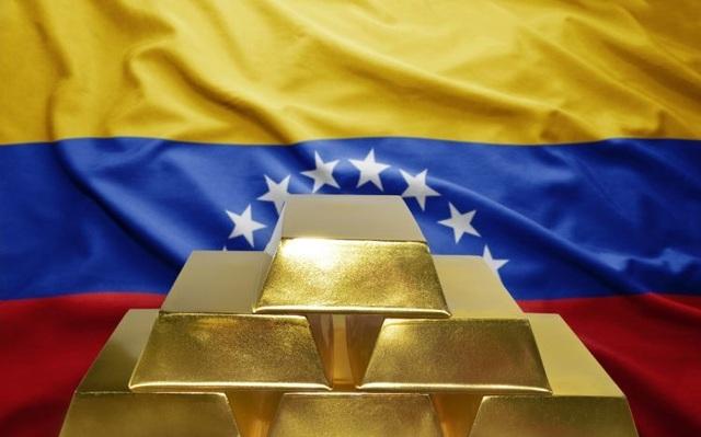 Số vàng suýt được chuyển ra nước ngoài này chiếm tới 20% nguồn cung vàng của Venezuela.