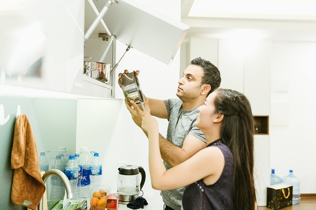 """Võ Hạ Trâm: """"Chồng không ngại việc rửa chén, lau nhà giúp vợ ngày Tết"""" - 6"""
