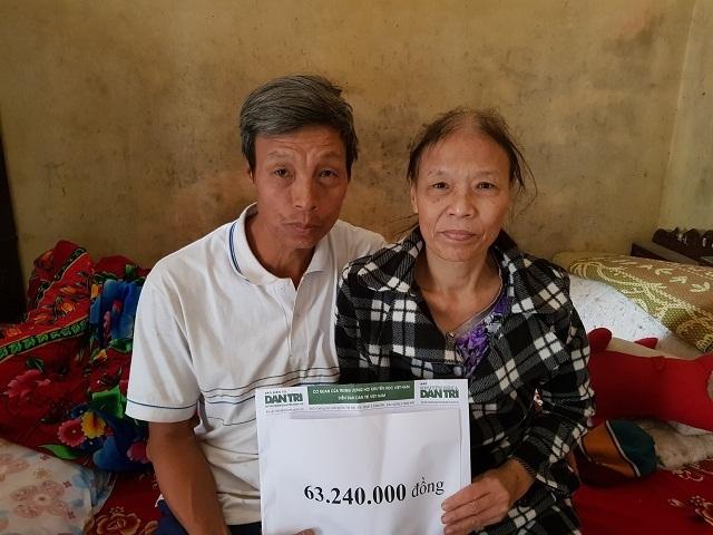Bạn đọc giúp gia đình chị Vũ Thị Hòa hơn 63 triệu đồng - 2