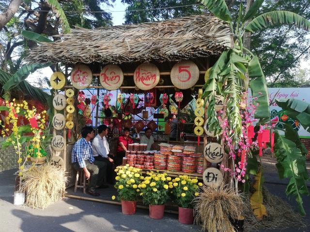 Đặc sắc gian hàng chợ quê Tết trên phố lần đầu xuất hiện ở Bạc Liêu - 18