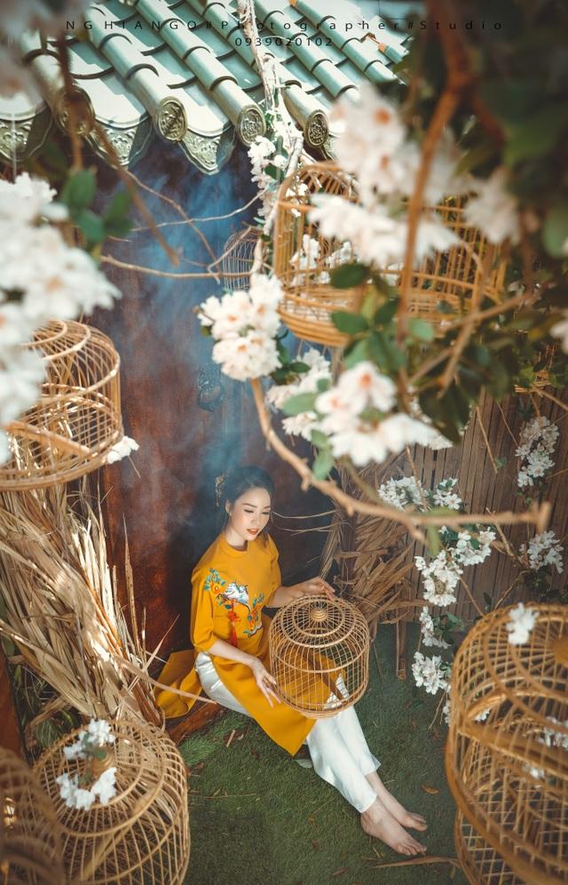 Hoa khôi Sinh viên Cần Thơ chúc năm mới Kỷ Hợi 2019 đến độc giả Dân trí - 8