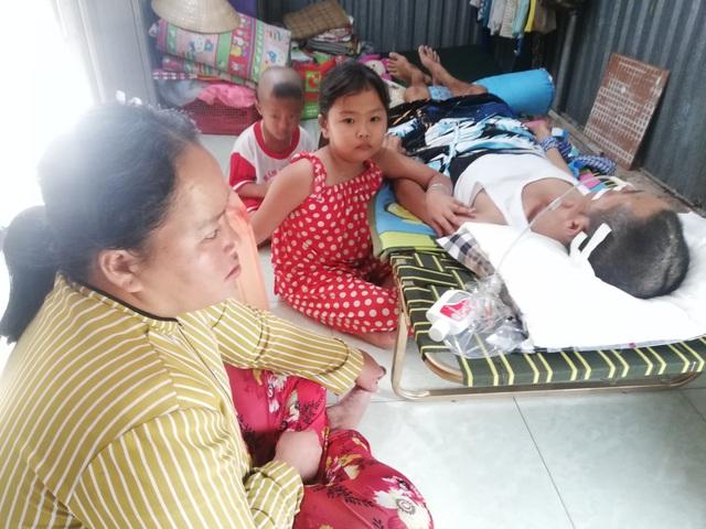 Cha nằm liệt giường vì tai nạn giao thông, 2 con thơ mịt mù tương lai - 3
