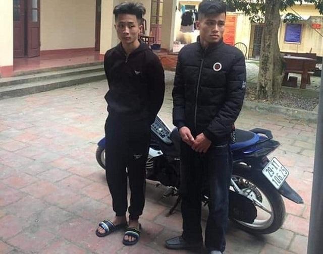 Khởi tố, bắt giam 2 đối tượng táo tợn nổ pháo trước cổng công an huyện - 1