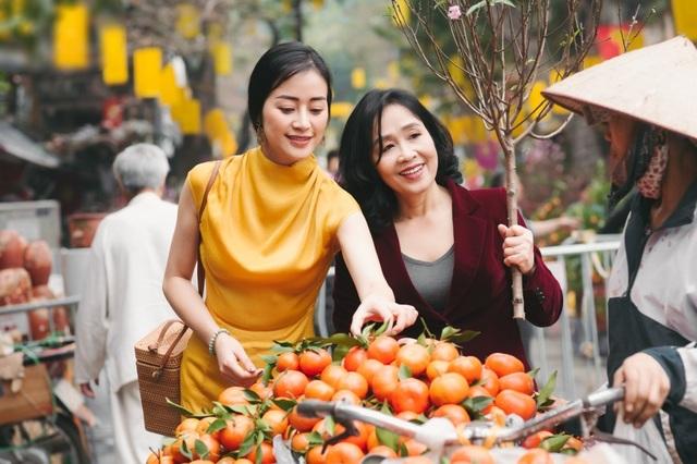 Xúc động những cuộc đoàn viên của dàn mỹ nhân Việt với mẹ đầu xuân mới - 4