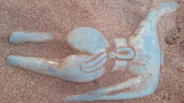 Bất ngờ tìm được tượng Phật từ thời Minh ngay bờ biển  - 2