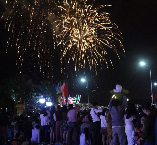 Pháo hoa rực sáng bầu trời, chào đón năm mới Kỷ Hợi - 8