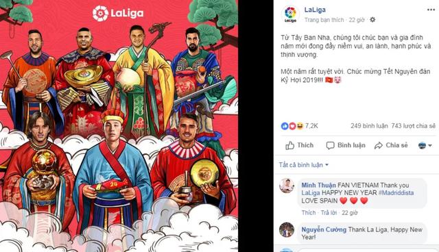 Thế giới bóng đá gửi lời chúc Tết đến Việt Nam