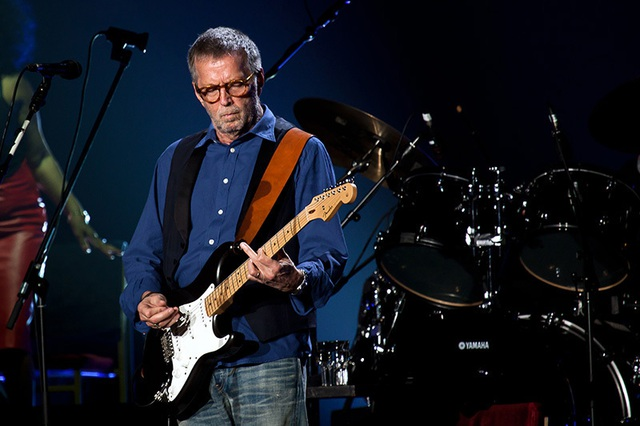 Ca sĩ Eric Clapton - Tay chơi xe thứ dữ - 1