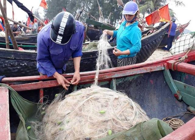 """Thanh Hoá: Ngư dân đón """"lộc biển"""" đầu năm - 2"""