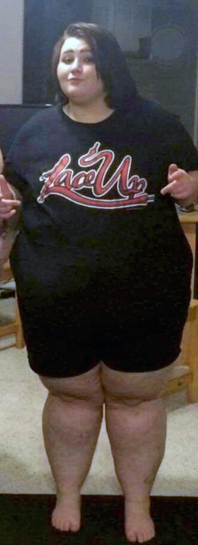 Cô gái béo phì chỉ vừa size XXXXL lột xác thành hot girl - 4
