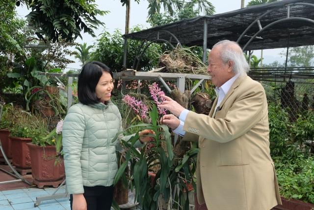 Bí quyết giữ gìn hôn nhân hạnh phúc của cặp đôi chồng 91 vợ 38 tuổi ở Hà Nội - 2