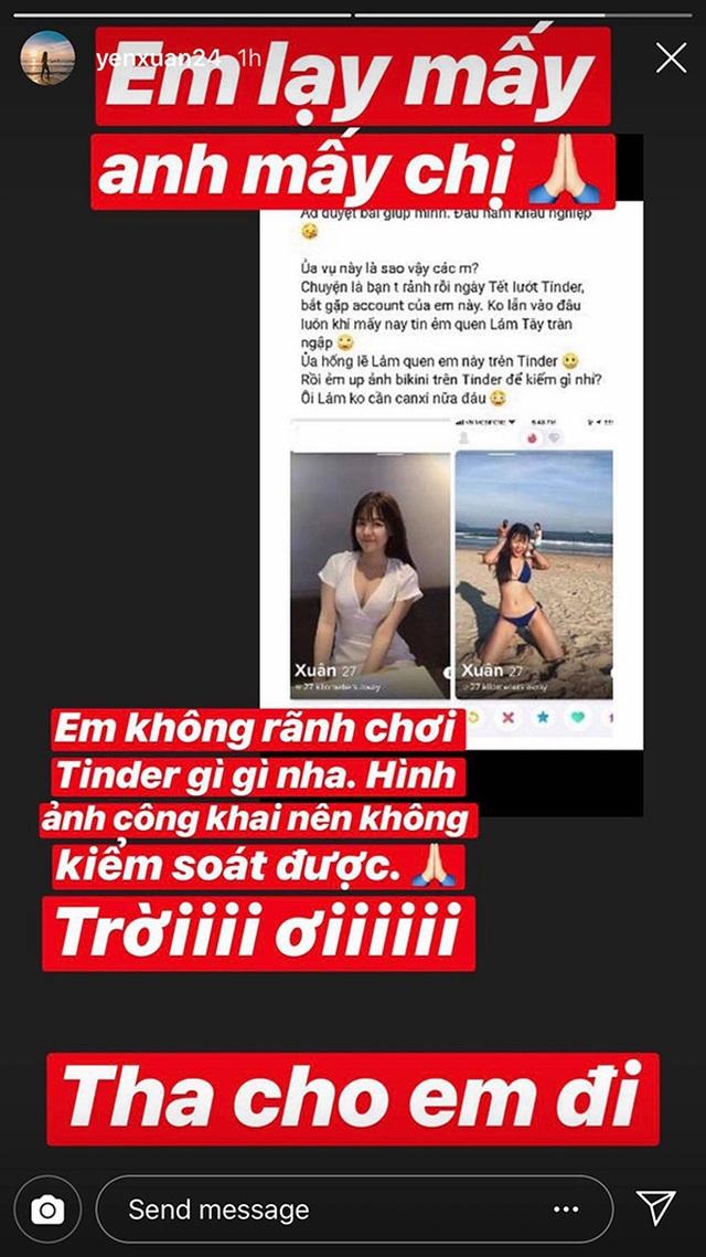 Bạn gái nóng bỏng của thủ thành Văn Lâm bức xúc vì bị đưa ảnh lên ứng dụng hẹn hò - 3