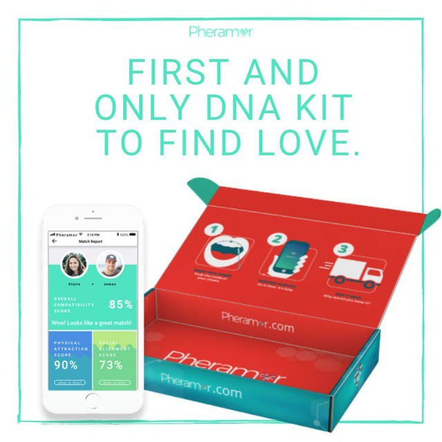Dịch vụ hẹn hò dựa trên tương thích ADN