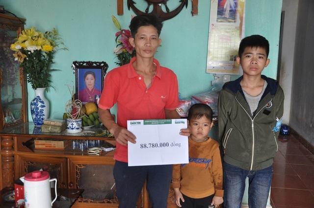 Bạn đọc giúp đỡ 3 chị em mồ côi mẹ hơn 88 triệu đồng - 4