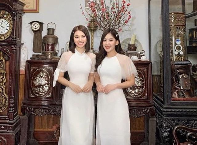 Vợ chồng Hà Tăng diện áo dài cực đẹp đôi, Mỹ Tâm giản dị với... dép tổ ong - 5