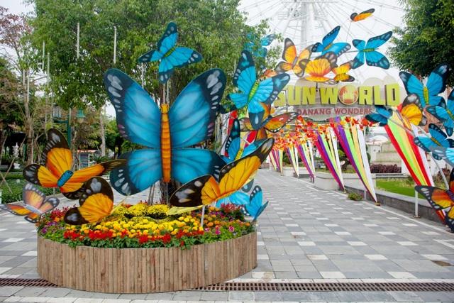 Rộn ràng trẩy hội xuân tại công viên nghìn tỷ ở trung tâm thành phố Đà Nẵng - 1