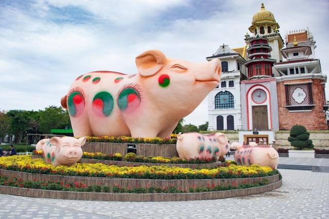 Rộn ràng trẩy hội xuân tại công viên nghìn tỷ ở trung tâm thành phố Đà Nẵng - 3