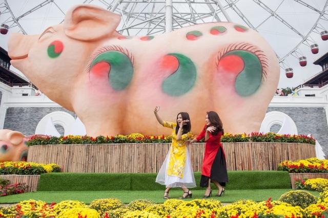 Rộn ràng trẩy hội xuân tại công viên nghìn tỷ ở trung tâm thành phố Đà Nẵng - 4