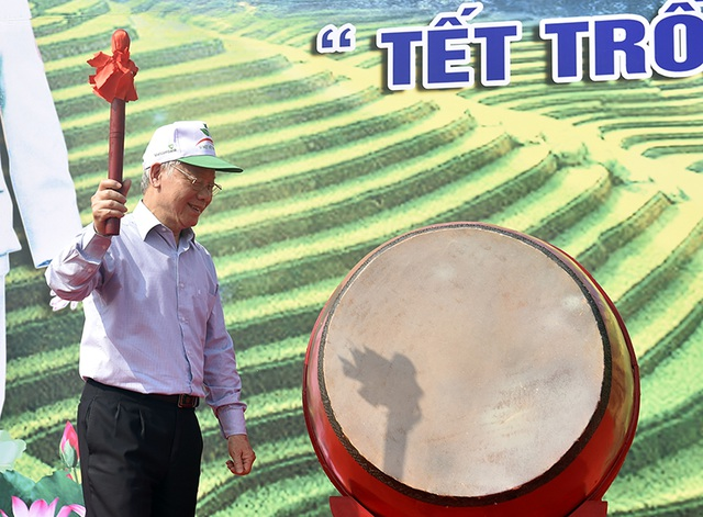 Tổng Bí thư, Chủ tịch nước Nguyễn Phú Trọng phát động Tết trồng cây - 1