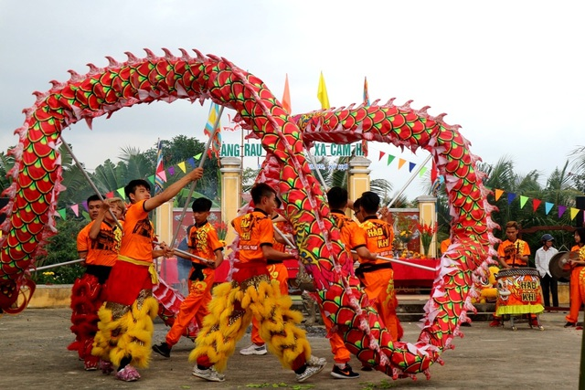 Lễ hội Cầu Bông làng rau Trà Quế