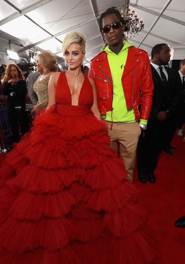 Người đẹp lộng lẫy váy áo trên thảm đỏ Grammy 2019 - 17