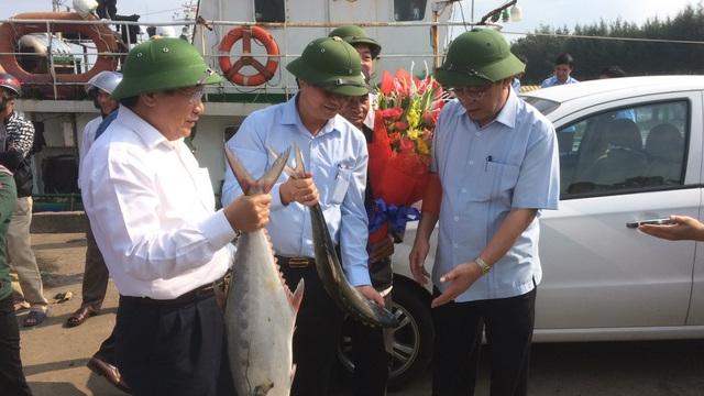 """Mẻ cá bè """"khủng"""" hơn 100 tấn của ngư dân Quảng Trị trị giá bao nhiêu? - 1"""