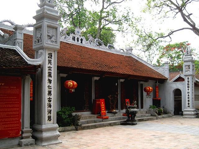 """Chuyện ít người biết về 4 ngôi đền thiêng được xem là """"Tứ trấn Thăng Long""""  - 1"""