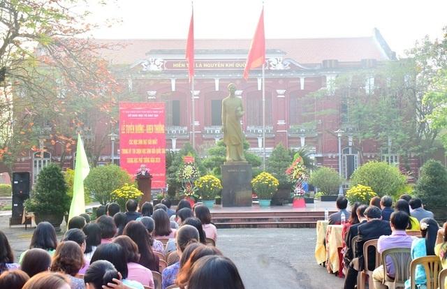 Thừa Thiên Huế: Tuyên dương các học sinh đạt giải Nhất kỳ thi học sinh giỏi quốc gia - 1