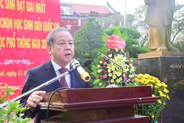 Thừa Thiên Huế: Tuyên dương các học sinh đạt giải Nhất kỳ thi học sinh giỏi quốc gia - 3