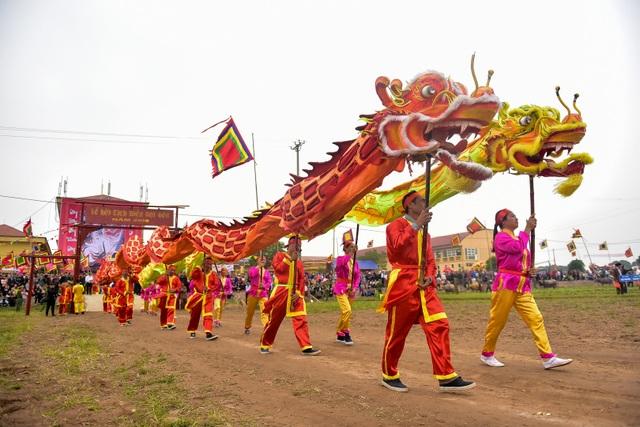 Đây là năm thứ 10 Lễ hội Tịch điền Đọi Sơn được phục dựng lại