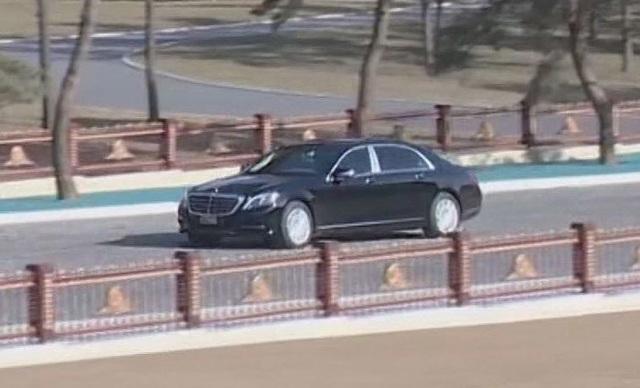Hé lộ siêu xe bọc thép mới của ông Kim Jong-un - 1