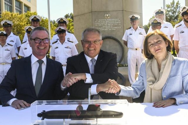 Australia chi 35 tỷ USD mua tàu ngầm Pháp - 1