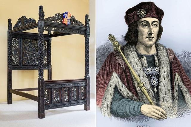 Giường của Vua Henry VII vô tình được dùng ở khách sạn trong 15 năm - 1