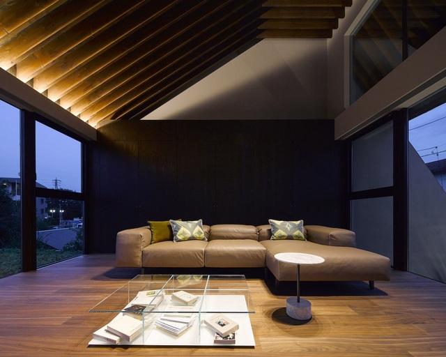 """Lạ mắt với ngôi nhà """"tốc mái"""" của kiến trúc sư Nhật Bản  - 15"""