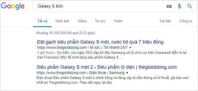 Người dùng Việt săn tìm thông tin rò rỉ về siêu phẩm Galaxy S sắp ra mắt - 2