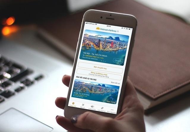Vietnam Airlines ra mắt ứng dụng mới, tối ưu trải nghiệm người dùng - 1