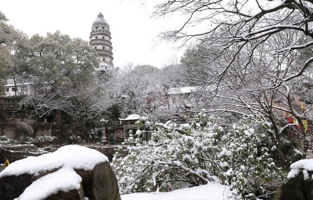 """""""Đẹp lịm tim"""" cảnh sắc trong trẻo ngày tuyết rơi dày như chốn tiên cảnh - 2"""
