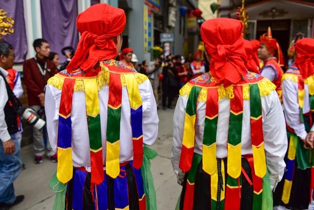 Trai làng Triều Khúc lả lơi trong điệu con đĩ đánh bồng - 5