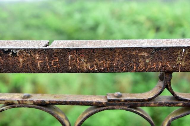 Khóa tình yêu trên cây cầu lịch sử ở Hà Nội  - 11
