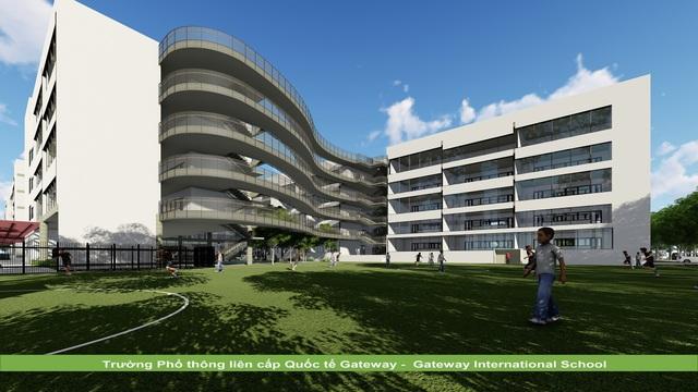 KTS Hoàng Thúc Hào bật mí về ngôi trường có kiến trúc xanh và lớn bậc nhất Hà Nội - 2